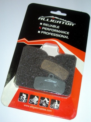 Alligator pastiglie freno a disco compatibili Shimano Saint Zee semi metalliche