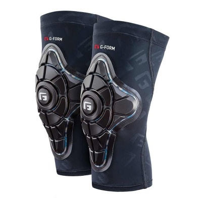 G-Form Ginocchiera Pro-X Knee Pads colore Black Teal Camo