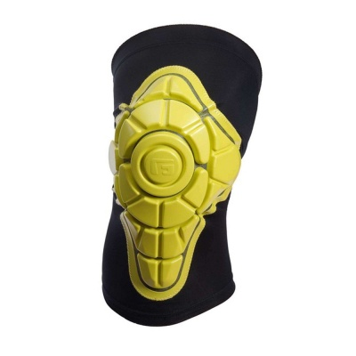 G-Form Pro-X Knee ginocchiera mtb colore Black/Yellow