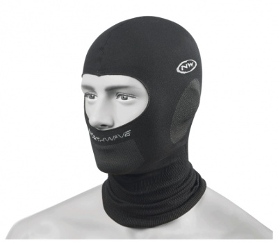 Northwave Balaclava Plus Headcover color Black