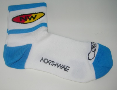 Northwave calzini ciclismo Comp 2 White/Blue