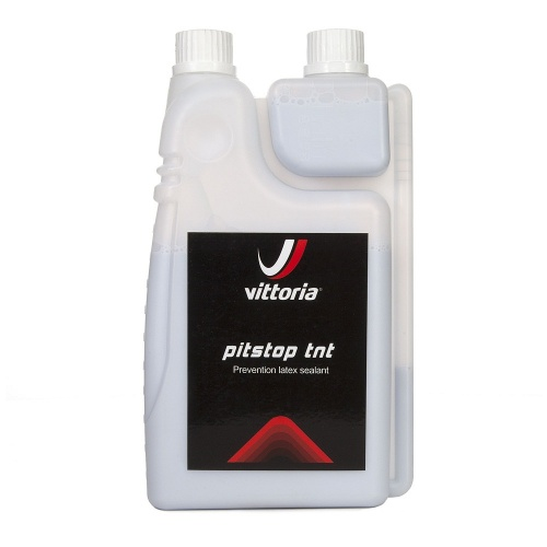 Vittoria Pit Stop TNT lattice liquido preventivo sigillante bottiglia da 1 litro